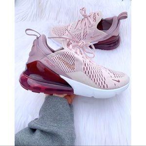 ⚡️Custom Bling Nike Air Max 270 (Barely Rose)⚡️